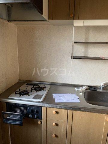 メゾンベール 101号室のキッチン