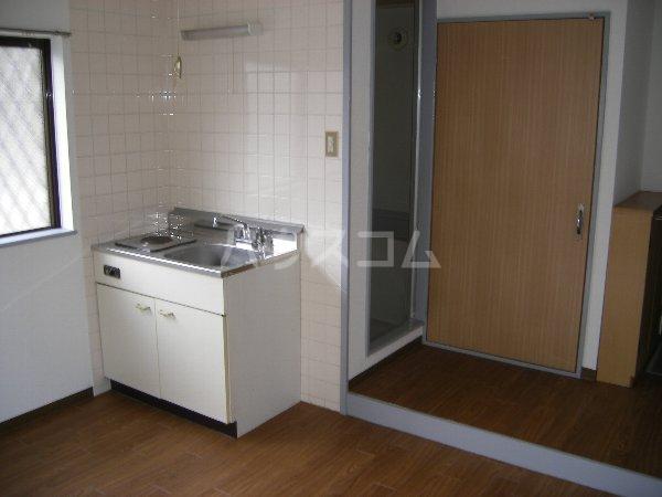 キョウメイタウン 2C号室のキッチン