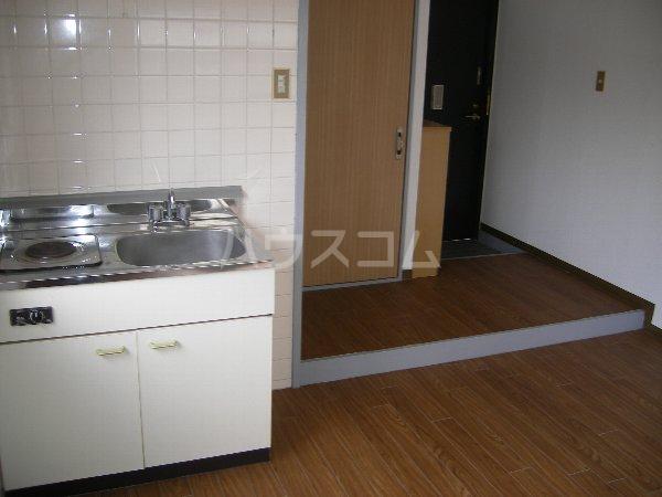 キョウメイタウン 2C号室のベッドルーム