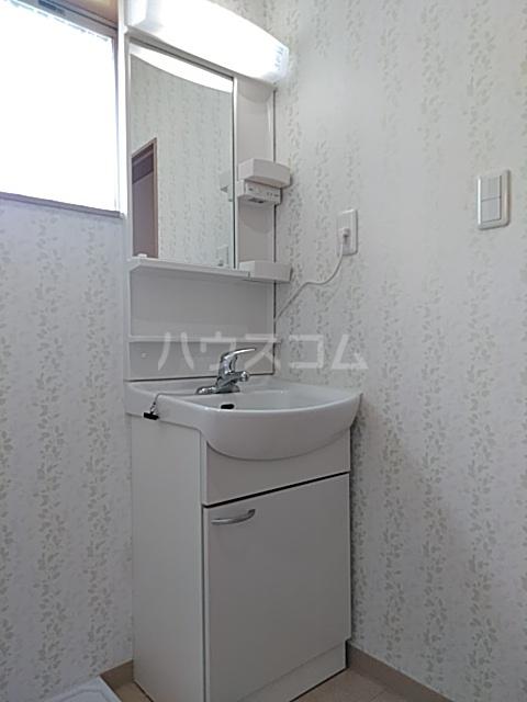 福岡借家の洗面所