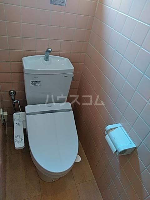福岡借家のトイレ