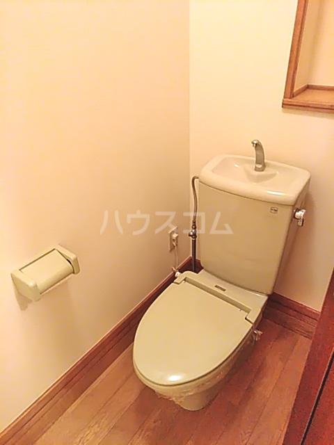 吉祥宮根の郷 303号室のトイレ