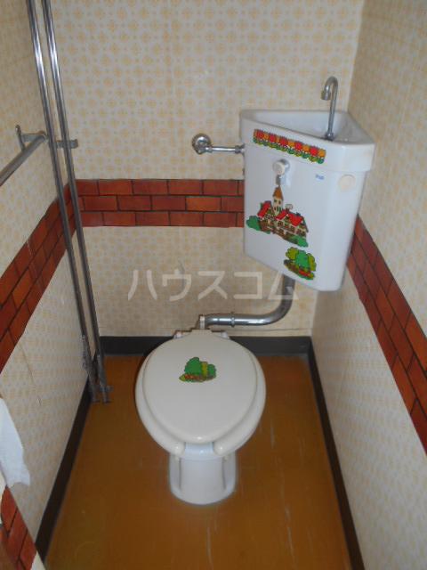 第2柴田ビル 407号室のトイレ
