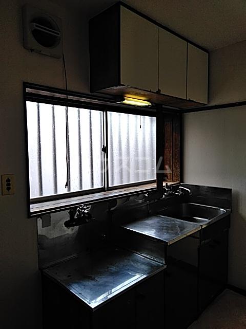 菊池荘 201号室のキッチン