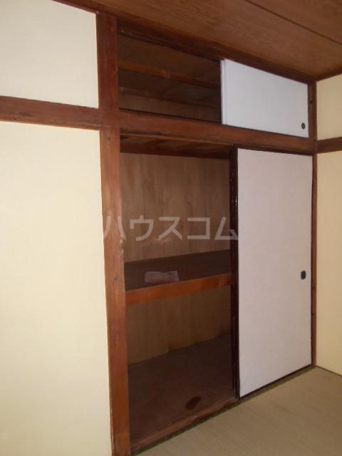 江戸川荘 203号室の収納