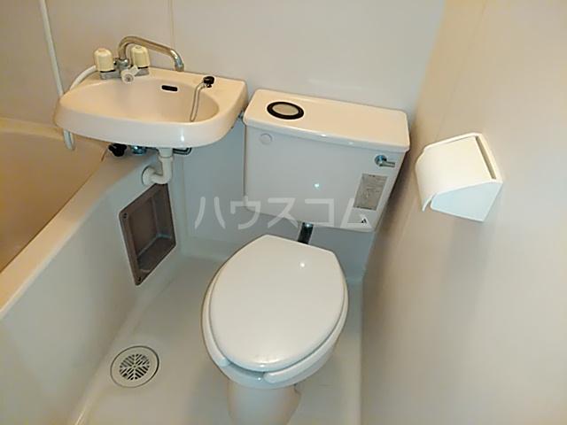クレール日吉 301号室のトイレ