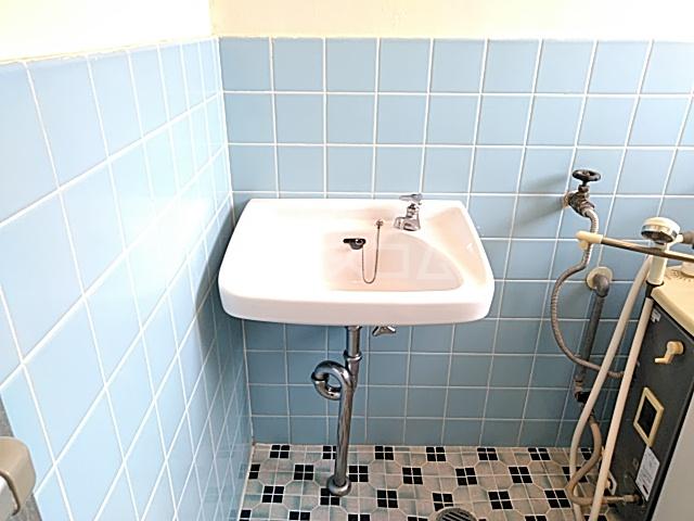 ロイヤルハイツ 401号室の洗面所