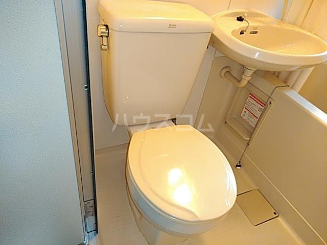 ニチエイハイツ 101号室のトイレ