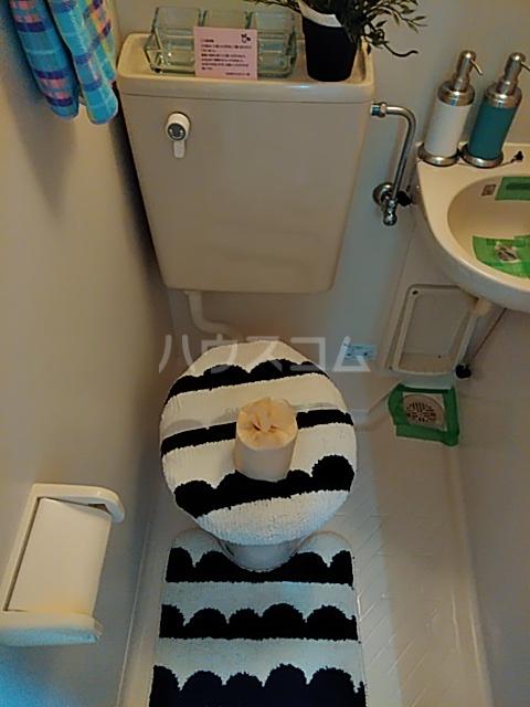 クリエイト・ハラ第一 102号室のトイレ