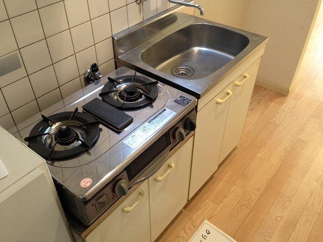 ハウスぶる 101号室のキッチン