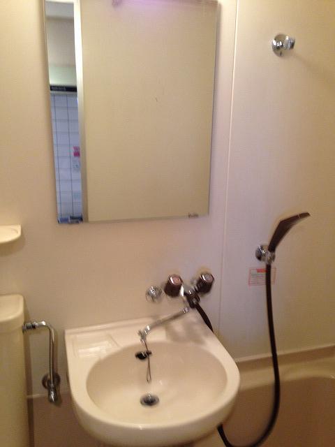ハウスぶる 101号室の洗面所