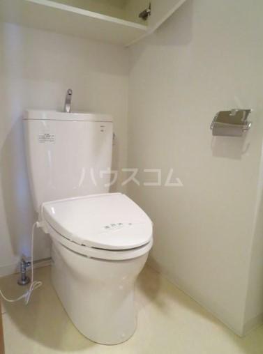 レディアス調布国領 509号室のトイレ