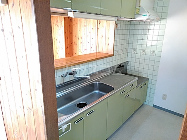 稲元ビル東伊場 401号室のキッチン