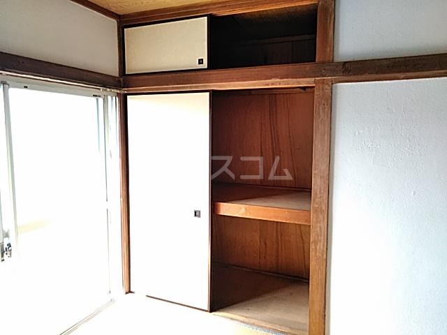 旭ハイム 201号室の収納