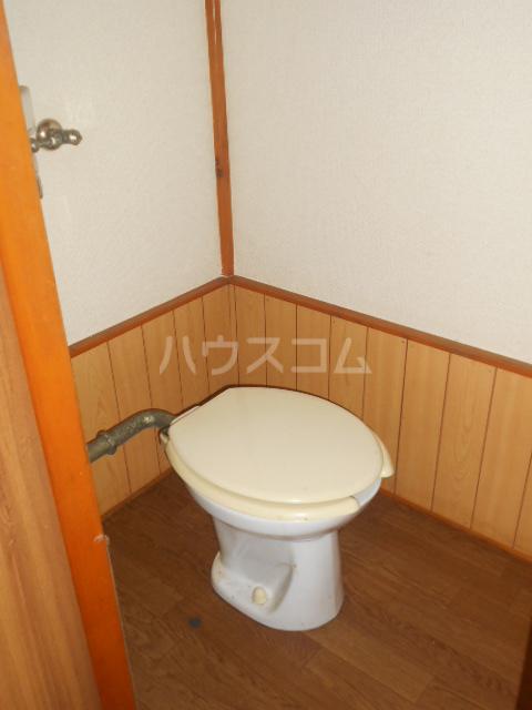 ハイライトコーポ 206号室のトイレ