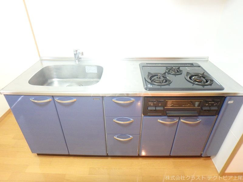 ルピナス 201号室のキッチン