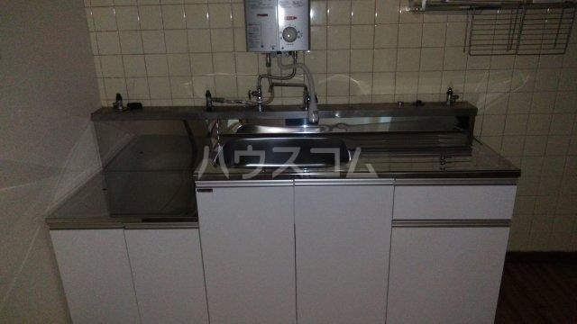フラワーマンション 107号室のキッチン