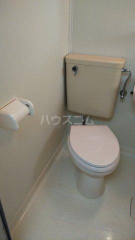 コーポ上尾 106号室のトイレ