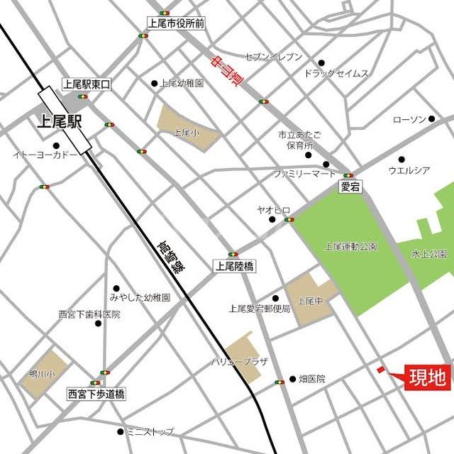 ドエルA 202号室の地図