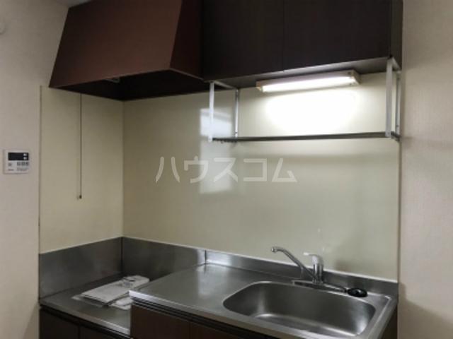 ドエルA 202号室のキッチン