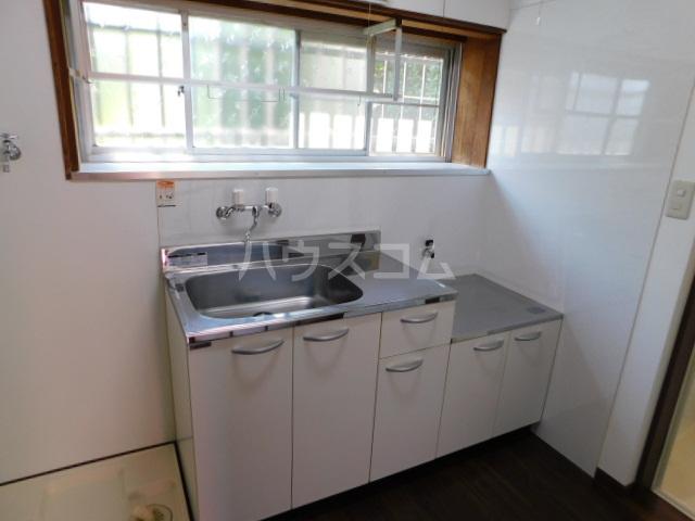 富士見1丁目テラスハウスのキッチン