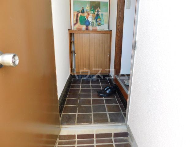 富士見1丁目テラスハウスの玄関