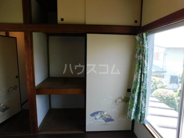 富士見1丁目テラスハウスの収納