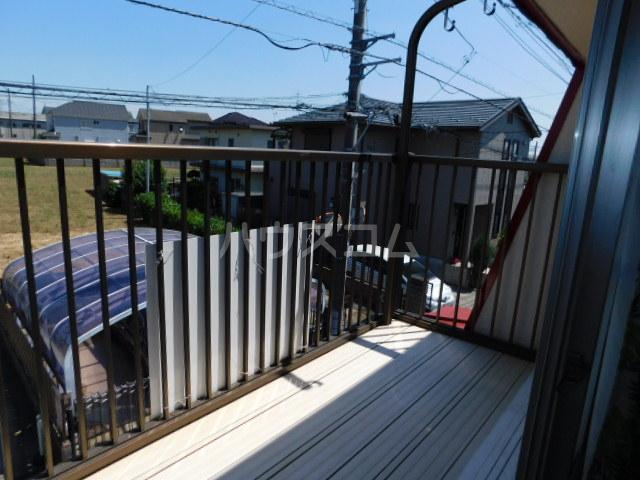 富士見1丁目テラスハウスのバルコニー