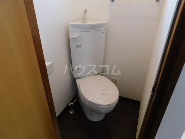 富士見1丁目テラスハウスのトイレ
