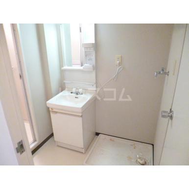 パークマンション上尾 203号室の洗面所