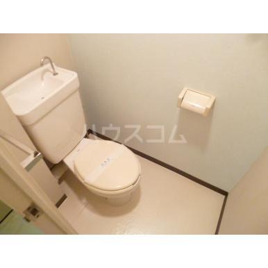 パークマンション上尾 203号室のトイレ