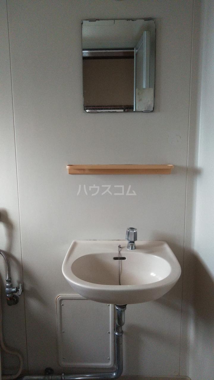大室ハイツ 202号室の洗面所