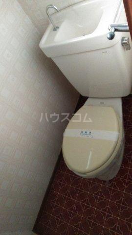 大室ハイツ 202号室のトイレ