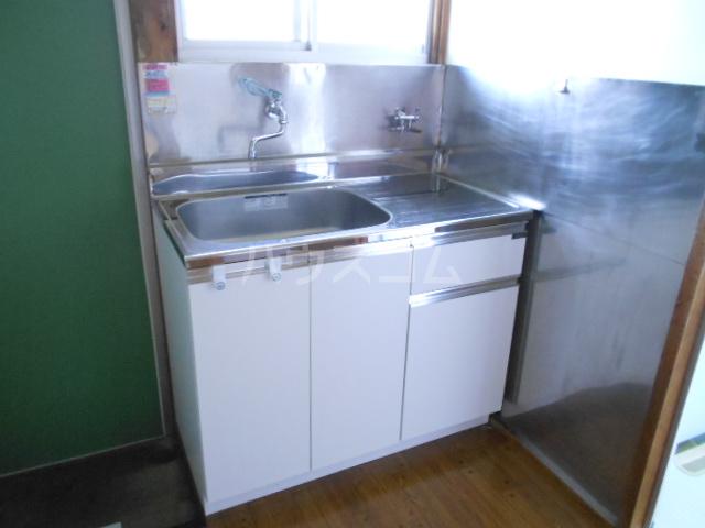 両国荘 202号室のキッチン