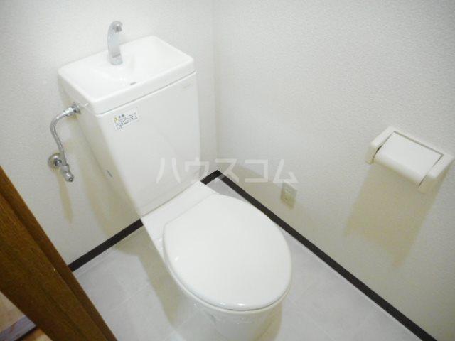 Sun Rise 二番館 205号室のトイレ