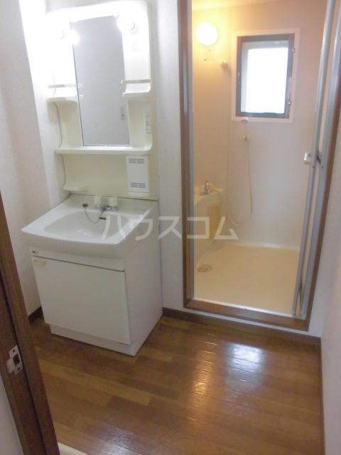 ガーデンパレスカネブン A 201号室の洗面所