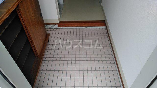 メゾン藪田 203号室の玄関