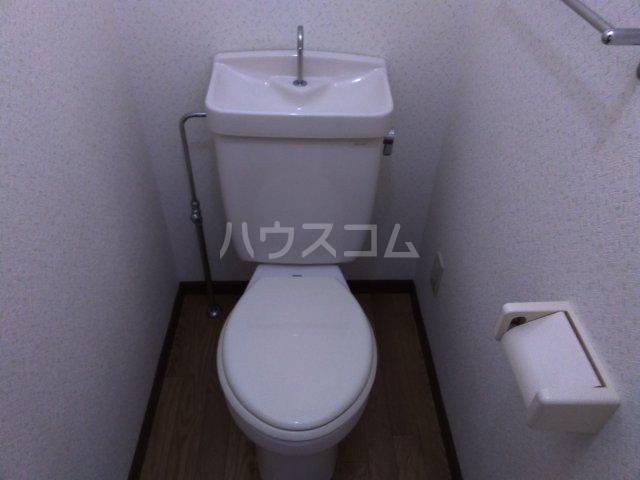 レジデンス東池袋 206号室のトイレ