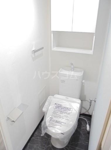 スカイコートグレース新宿中落合 112号室のトイレ