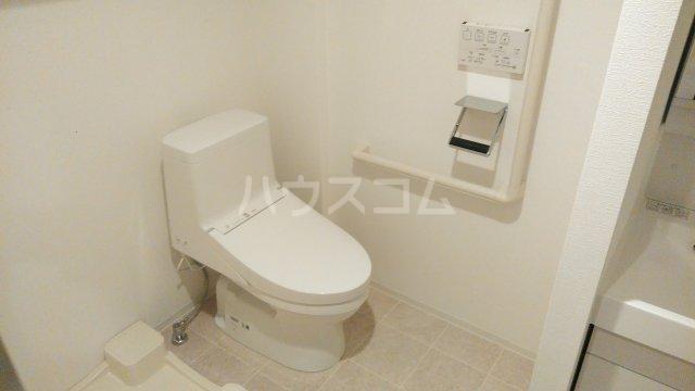 パティーナ東武練馬 602号室のトイレ