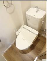 ベルツリーハイツ 202号室のトイレ