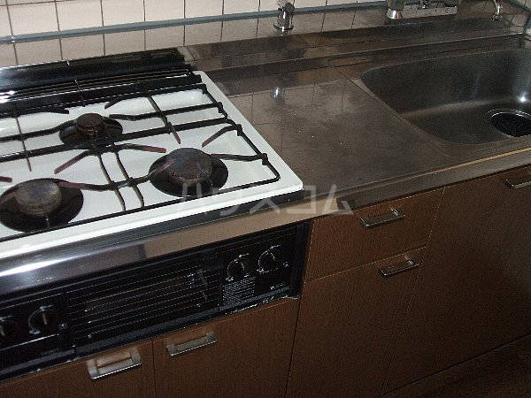 ソレアード中央 305号室のキッチン