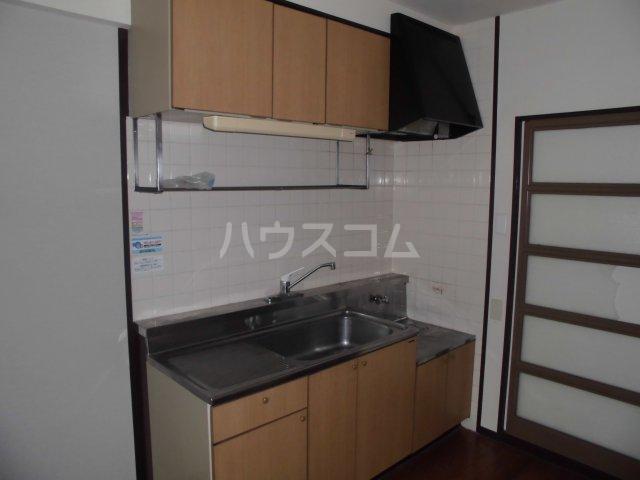 アパートメントハウス朴の樹 402号室のキッチン