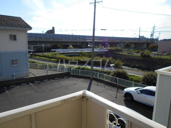 レジデンス萱場B 203号室の景色