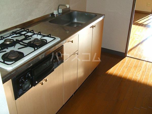KEコーポM 201号室のキッチン