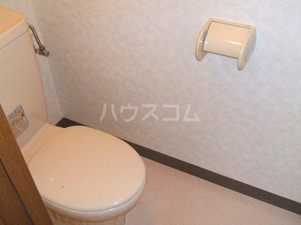 KEコーポM 201号室のトイレ