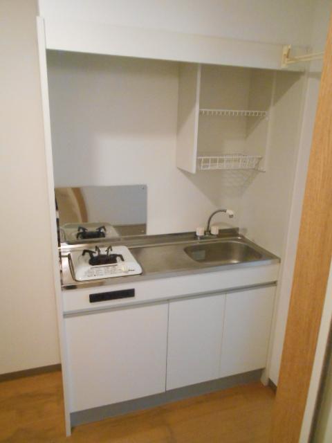 サンパティーク 4D号室のキッチン