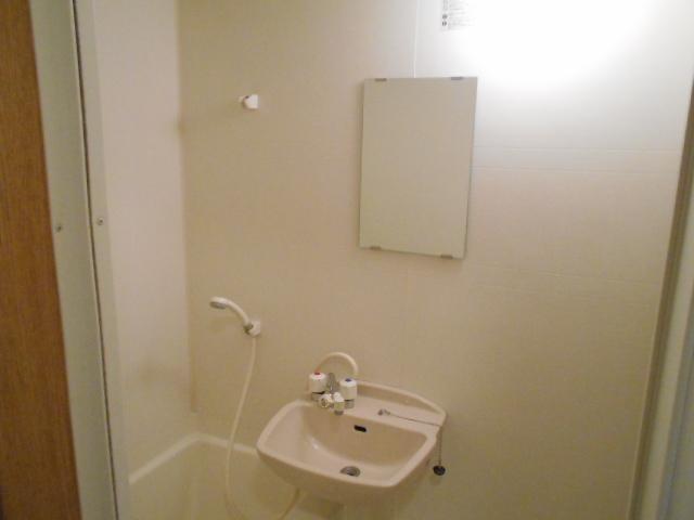 サンパティーク 4D号室の洗面所