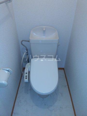 メゾンクレール 202号室のトイレ