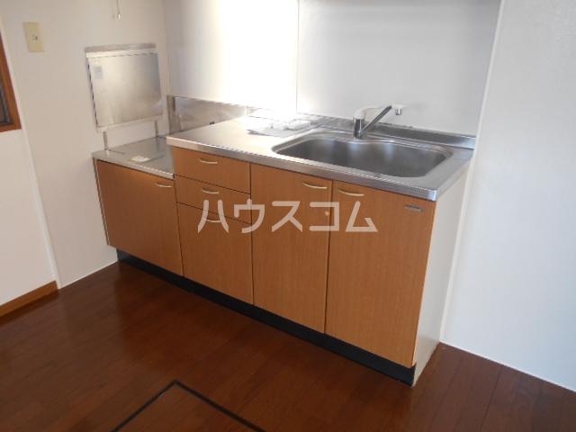 ルーチェ・Ⅰ 201号室のキッチン